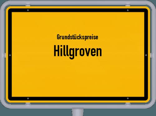 Grundstückspreise Hillgroven 2021