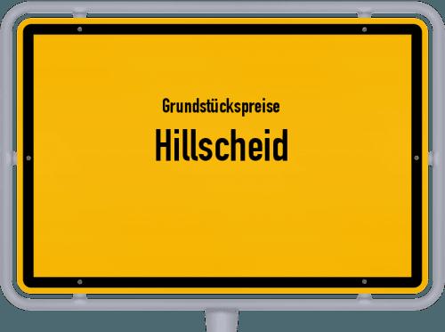 Grundstückspreise Hillscheid 2019