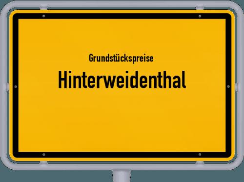Grundstückspreise Hinterweidenthal 2019