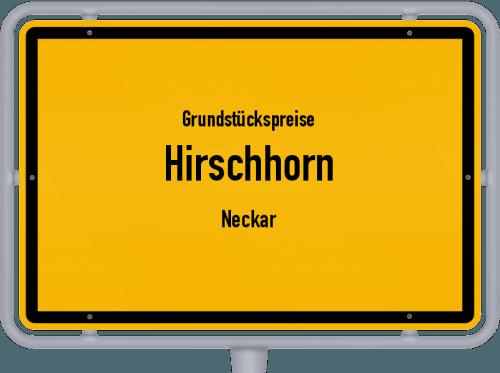 Grundstückspreise Hirschhorn (Neckar) 2018
