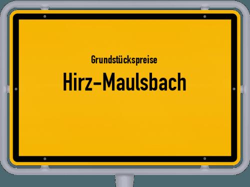Grundstückspreise Hirz-Maulsbach 2019