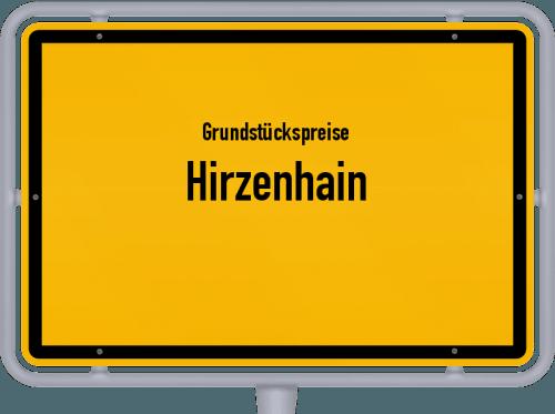 Grundstückspreise Hirzenhain 2018