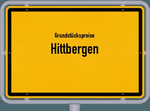 Grundstückspreise Hittbergen 2019