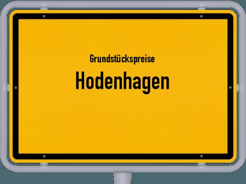 Grundstückspreise Hodenhagen 2021