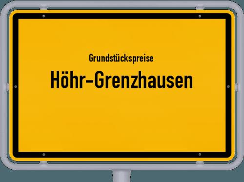 Grundstückspreise Höhr-Grenzhausen 2019