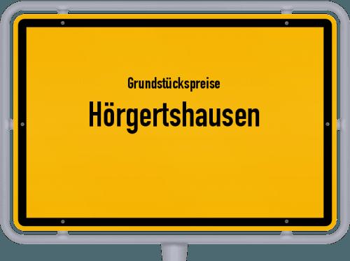 Grundstückspreise Hörgertshausen 2019