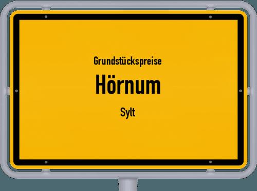 Grundstückspreise Hörnum (Sylt) 2021