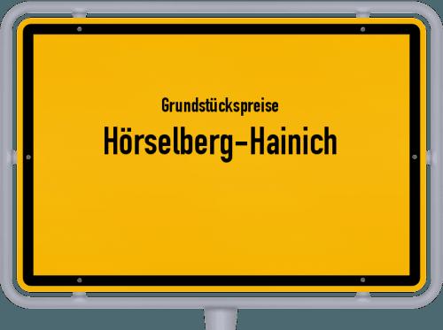 Grundstückspreise Hörselberg-Hainich 2019