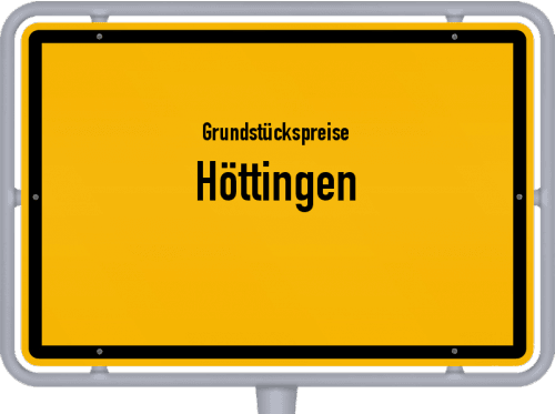 Grundstückspreise Höttingen 2021