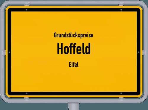 Grundstückspreise Hoffeld (Eifel) 2019