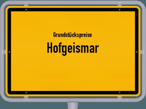 Grundstückspreise Hofgeismar 2019
