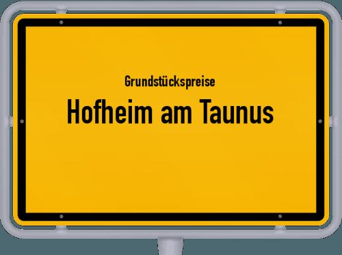Grundstückspreise Hofheim am Taunus 2021
