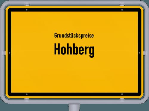 Grundstückspreise Hohberg 2021