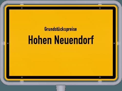 Grundstückspreise Hohen Neuendorf 2021