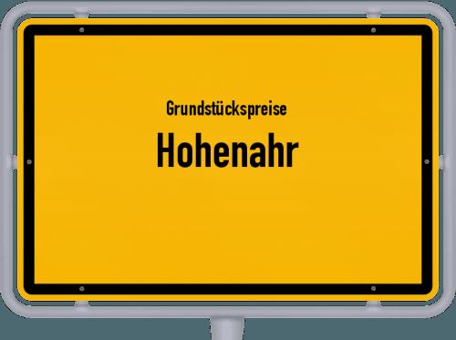 Grundstückspreise Hohenahr 2018