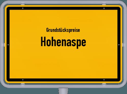 Grundstückspreise Hohenaspe 2021