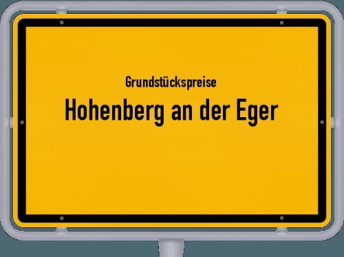 Grundstückspreise Hohenberg an der Eger 2019