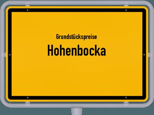 Grundstückspreise Hohenbocka 2021