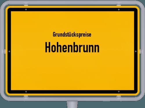 Grundstückspreise Hohenbrunn 2019