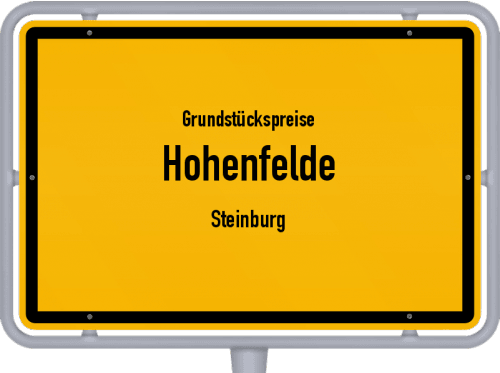 Grundstückspreise Hohenfelde (Steinburg) 2021