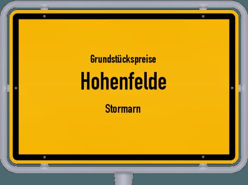 Grundstückspreise Hohenfelde (Stormarn) 2021