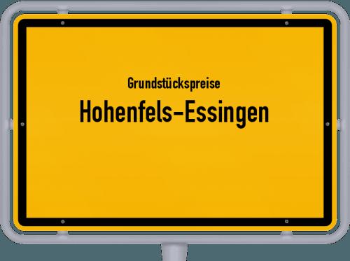Grundstückspreise Hohenfels-Essingen 2019