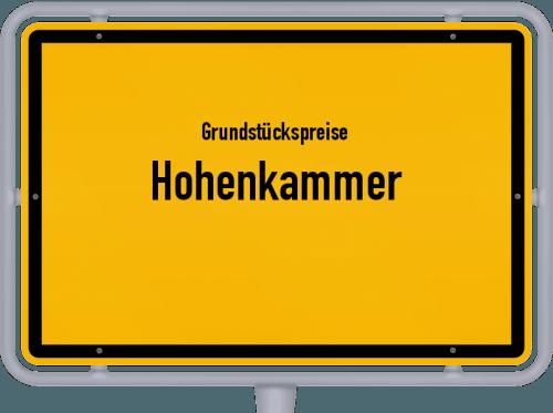 Grundstückspreise Hohenkammer 2019
