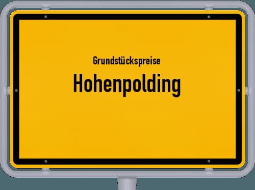 Grundstückspreise Hohenpolding 2019