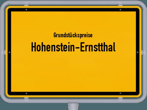 Grundstückspreise Hohenstein-Ernstthal 2019