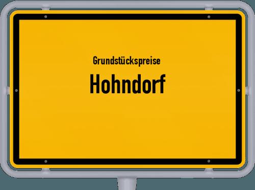 Grundstückspreise Hohndorf 2019