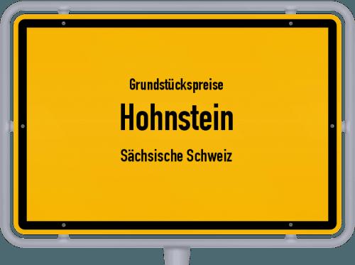 Grundstückspreise Hohnstein (Sächsische Schweiz) 2019