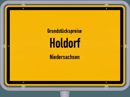 Grundstückspreise Holdorf (Niedersachsen) 2019