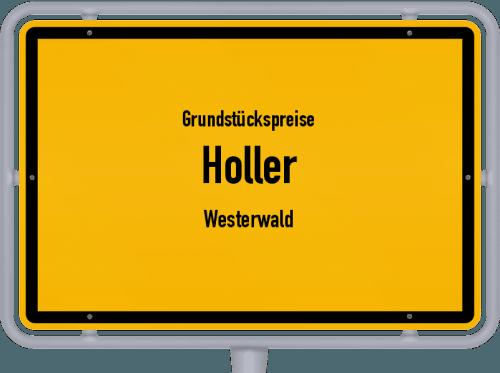 Grundstückspreise Holler (Westerwald) 2019