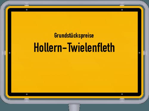 Grundstückspreise Hollern-Twielenfleth 2021