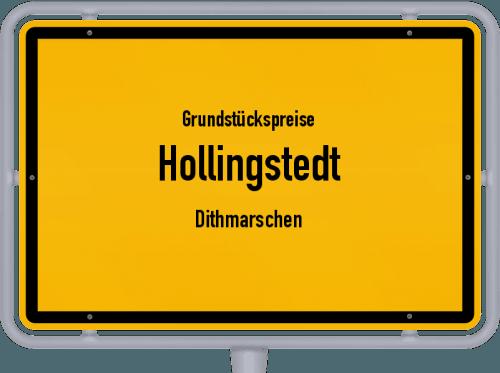 Grundstückspreise Hollingstedt (Dithmarschen) 2021