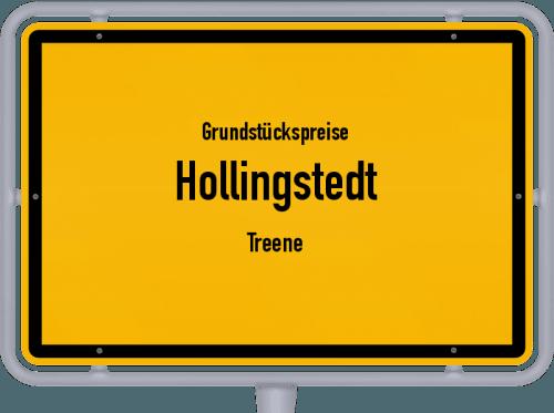 Grundstückspreise Hollingstedt (Treene) 2021
