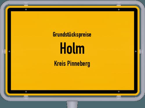 Grundstückspreise Holm (Kreis Pinneberg) 2021