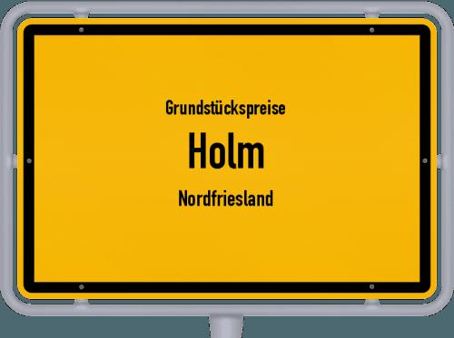 Grundstückspreise Holm (Nordfriesland) 2021