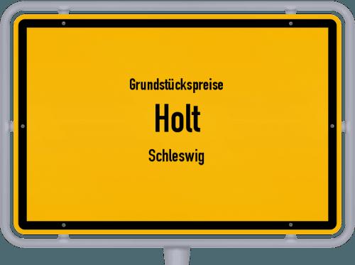 Grundstückspreise Holt (Schleswig) 2021