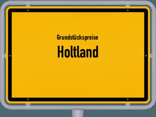 Grundstückspreise Holtland 2021