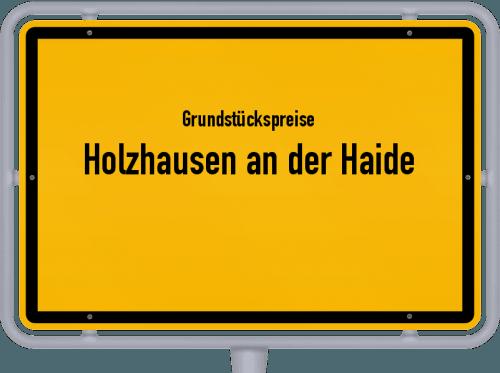 Grundstückspreise Holzhausen an der Haide 2019