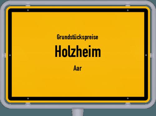 Grundstückspreise Holzheim (Aar) 2019