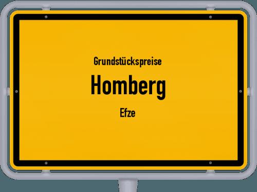 Grundstückspreise Homberg (Efze) 2020