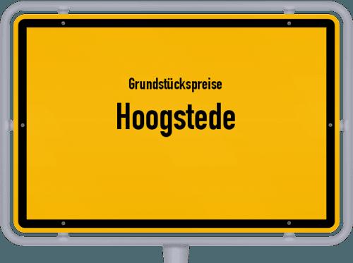 Grundstückspreise Hoogstede 2019