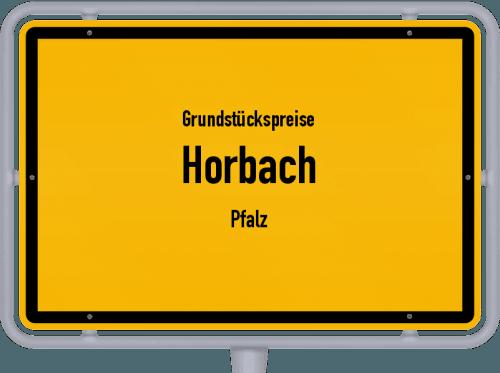 Grundstückspreise Horbach (Pfalz) 2019