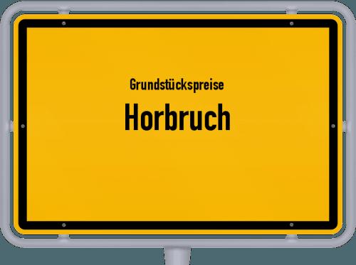 Grundstückspreise Horbruch 2019