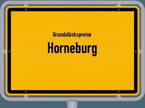 Grundstückspreise Horneburg 2019