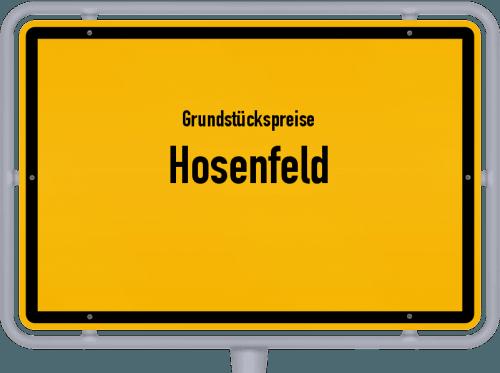 Grundstückspreise Hosenfeld 2018