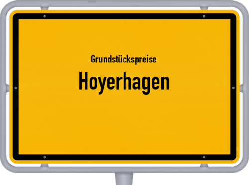 Grundstückspreise Hoyerhagen 2019