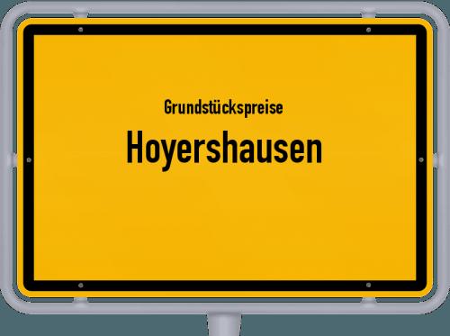Grundstückspreise Hoyershausen 2021